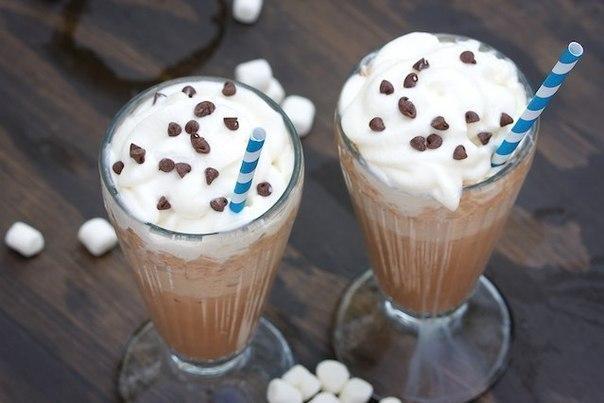 Замороженный горячий шоколад