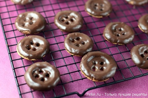 Печенье-пуговицы
